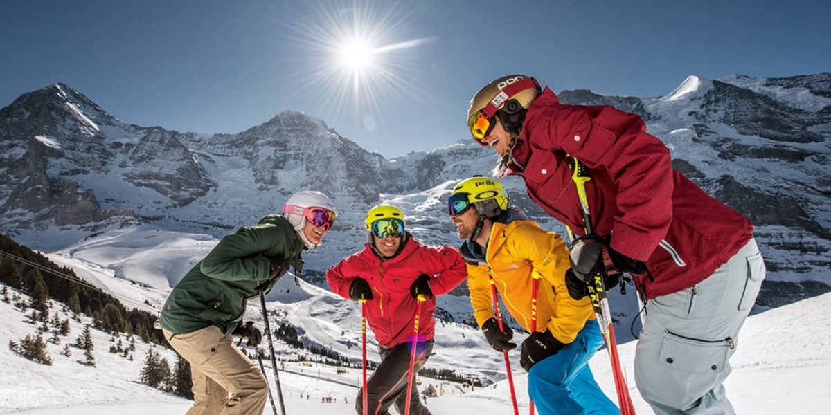 เตรียมความพร้อมออกไปเล่นสกี